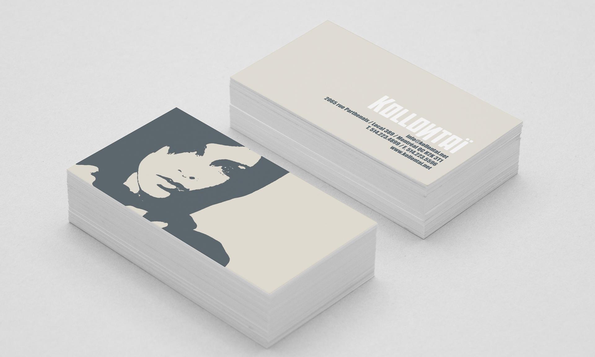 Design Cartes d'affaires
