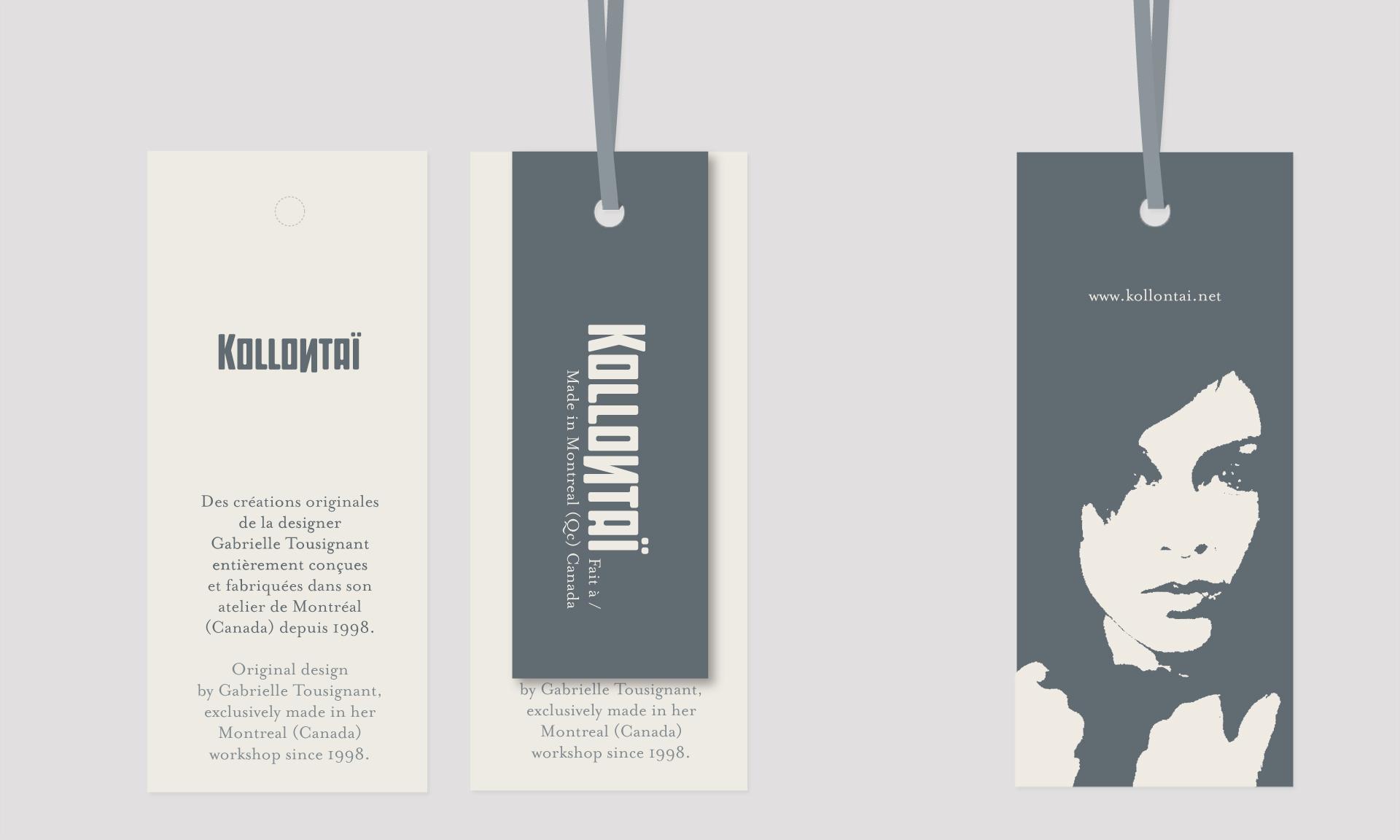 Design étiquettes
