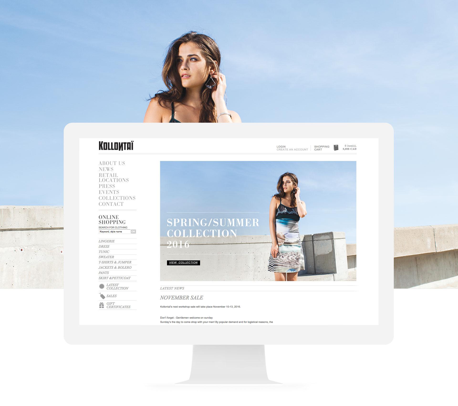 Site web Kollontaï