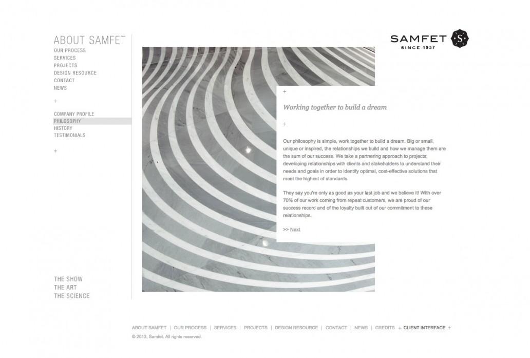 Web design Samfet