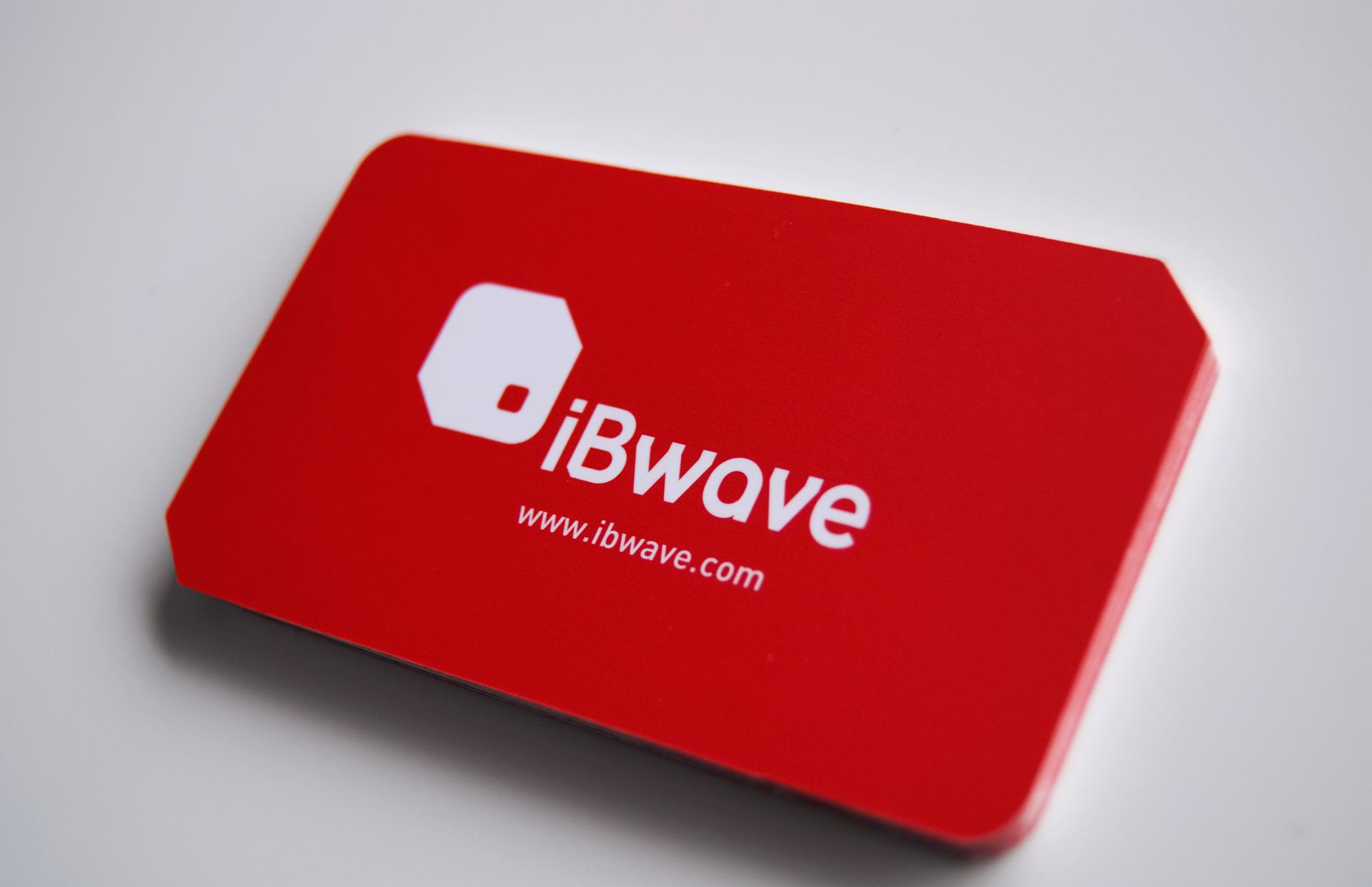 Carte d'affaire iBwave